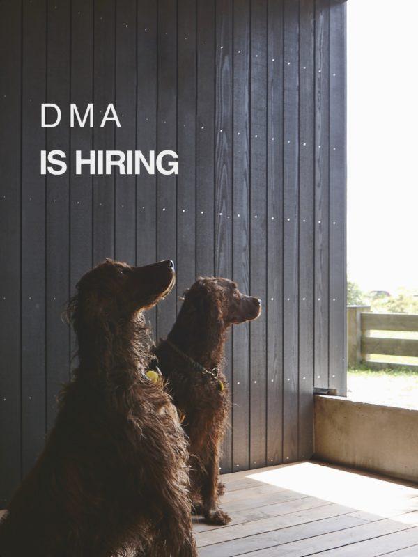DMA is hiring / Daniel Marshall Architects