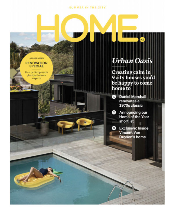 Home Magazine  - Railley House March Cover / Daniel Marshall Architects