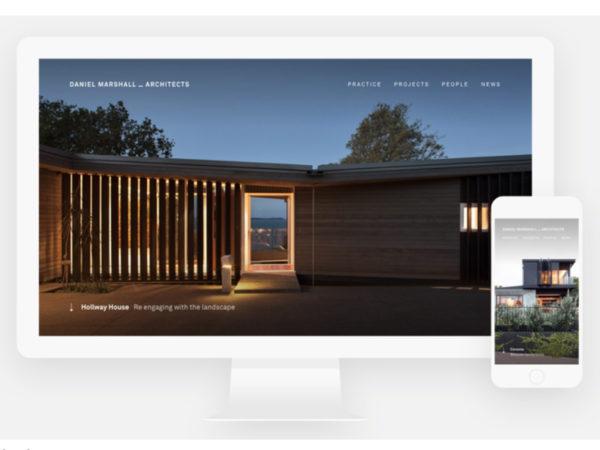 Web Award - SOTD Winner! / Daniel Marshall Architects
