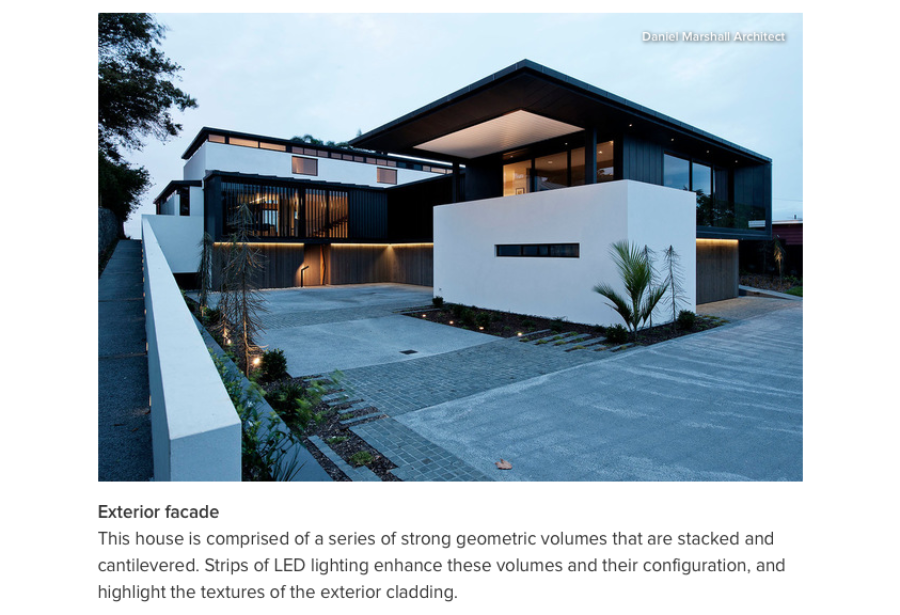 DMA featured in Innovation Alert: The Possibilities of LED Strip Lighting / Daniel Marshall Architects
